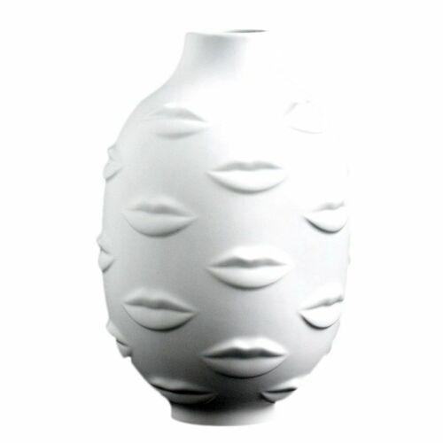 Ceramic Human Face Flower Vase Lady Head Ornament Home Garden Pot Craft Planters