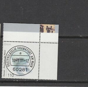 2001 - Wasser - 2185 re oben Eckrand Stempel Frankfurt - Hamm, Deutschland - 2001 - Wasser - 2185 re oben Eckrand Stempel Frankfurt - Hamm, Deutschland