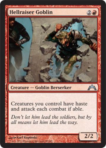 Gatecrash mtg U SPARROW MAGIC 4x Hellraiser Goblin M//NM