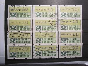 Bund 1981 schöne gestempelte Sammlung ATM (O123) - <span itemprop=availableAtOrFrom>Ahrensburg, Deutschland</span> - Bund 1981 schöne gestempelte Sammlung ATM (O123) - Ahrensburg, Deutschland