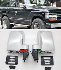 80-90 FITS TOYOTA LAND CRUISER 60-SERIES J60 FJ60 HJ60 FJ62RG DOOR MIRRORS BLACK