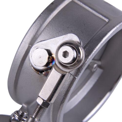 """76mm 3/"""" Unterdruck Auspuffklappe Klappenauspuff Ventil Exhaust Control Valve Neu"""