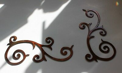 Metal Wall Art Decor Accents Decorative Small Set 6 1 2 Wide 3