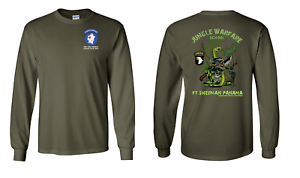 101st Airborne Division Jungle Master Long-Sleeve Cotton Shirt - 10089