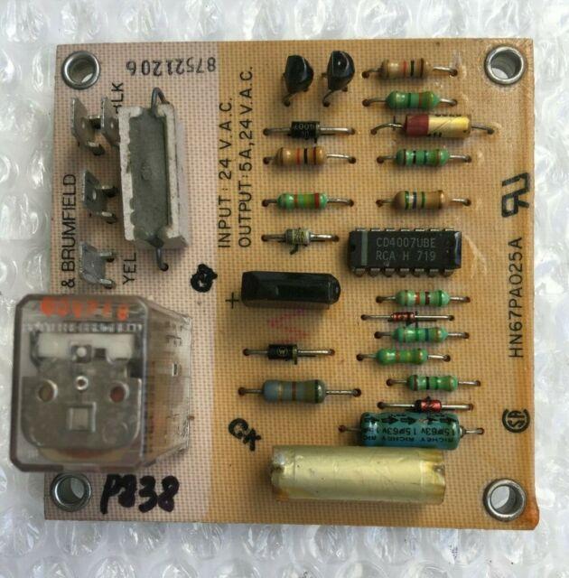 Potter  U0026 Brumfield Hn67pa025a Condenser Control Board Sda