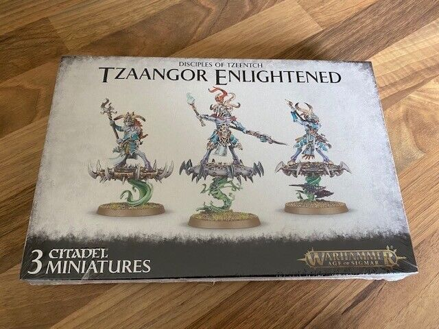 "WARHAMMER   :  DISCIPLES  OF TZEENTCH      ""TZAANGOR ENLIGHTENED""    NEUF / NEW"