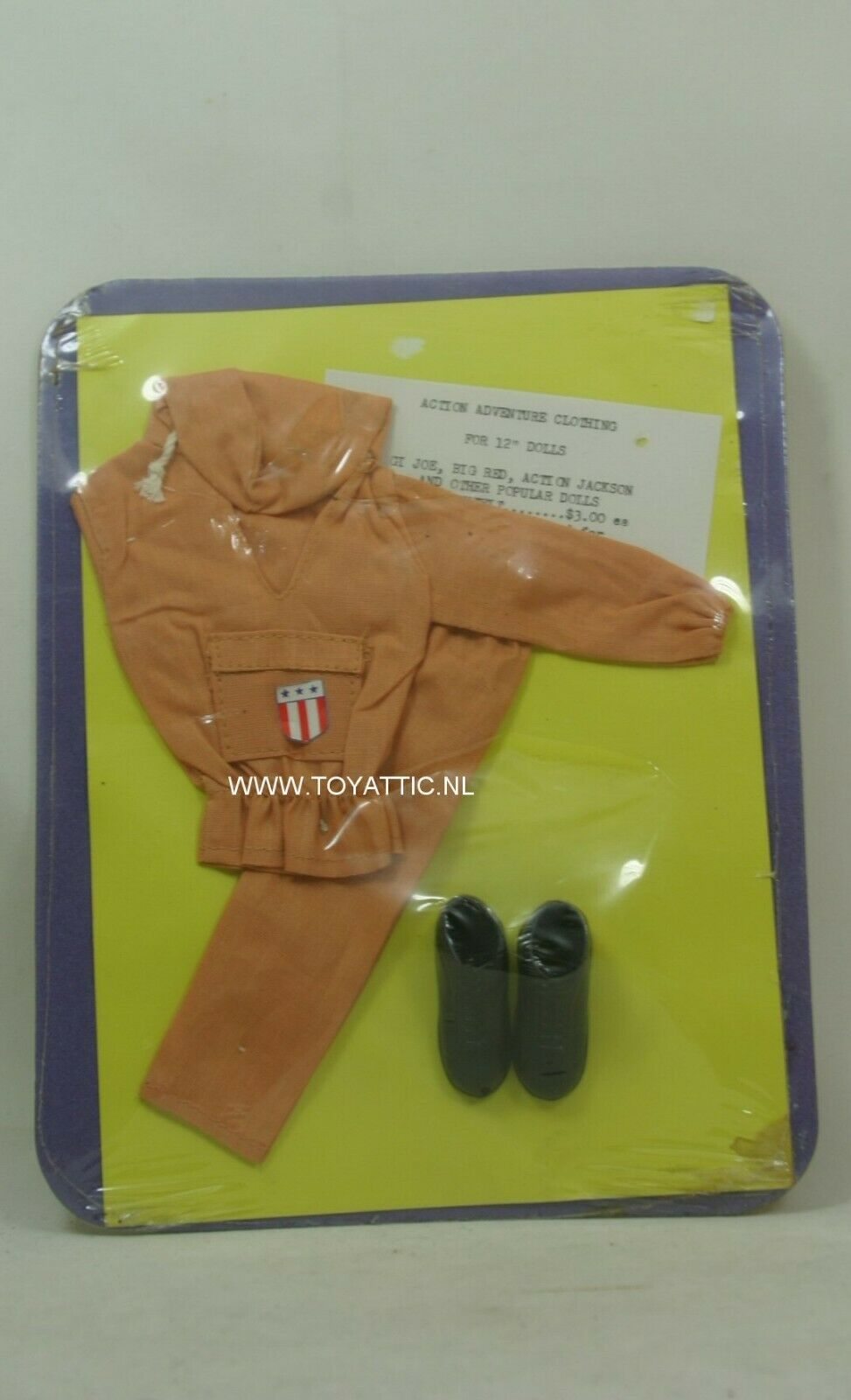 Action Adventure clothing GI Joe clone sized fashion set for action figures