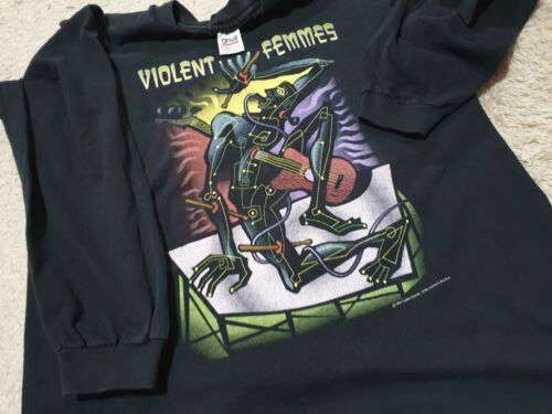 Vintage Violent Femmes Alt Rock Band Concert Tour