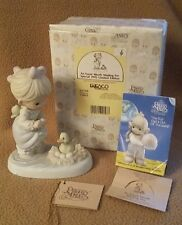 "PRECIOUS MOMENTS FIGURINE 1992 ""An Event Worth Wading For"" #527319"