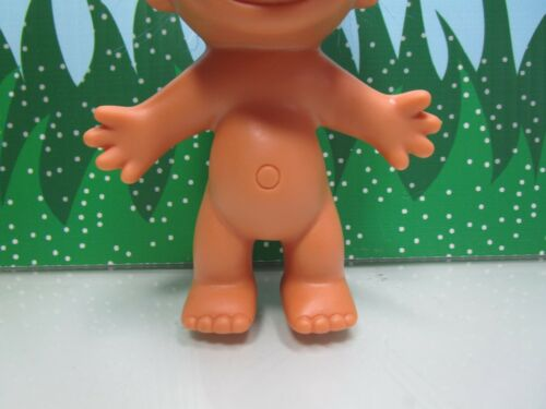 """5/"""" Russ Troll Doll RED HAIRED NAKED TROLL NEW IN ORIGINAL WRAPPER"""