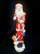 Alpine Christmas Tall Skinny Santa Lawn Art Figurine For Sale Online Ebay