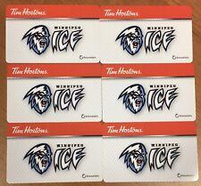2019 Saskatoon Blades Collectible Tim Hortons Collectible Gift Card