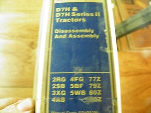 cat caterpillar d7h service manual disassembly assembly ebay rh ebay com Cat D7 Caterpillar Track Design