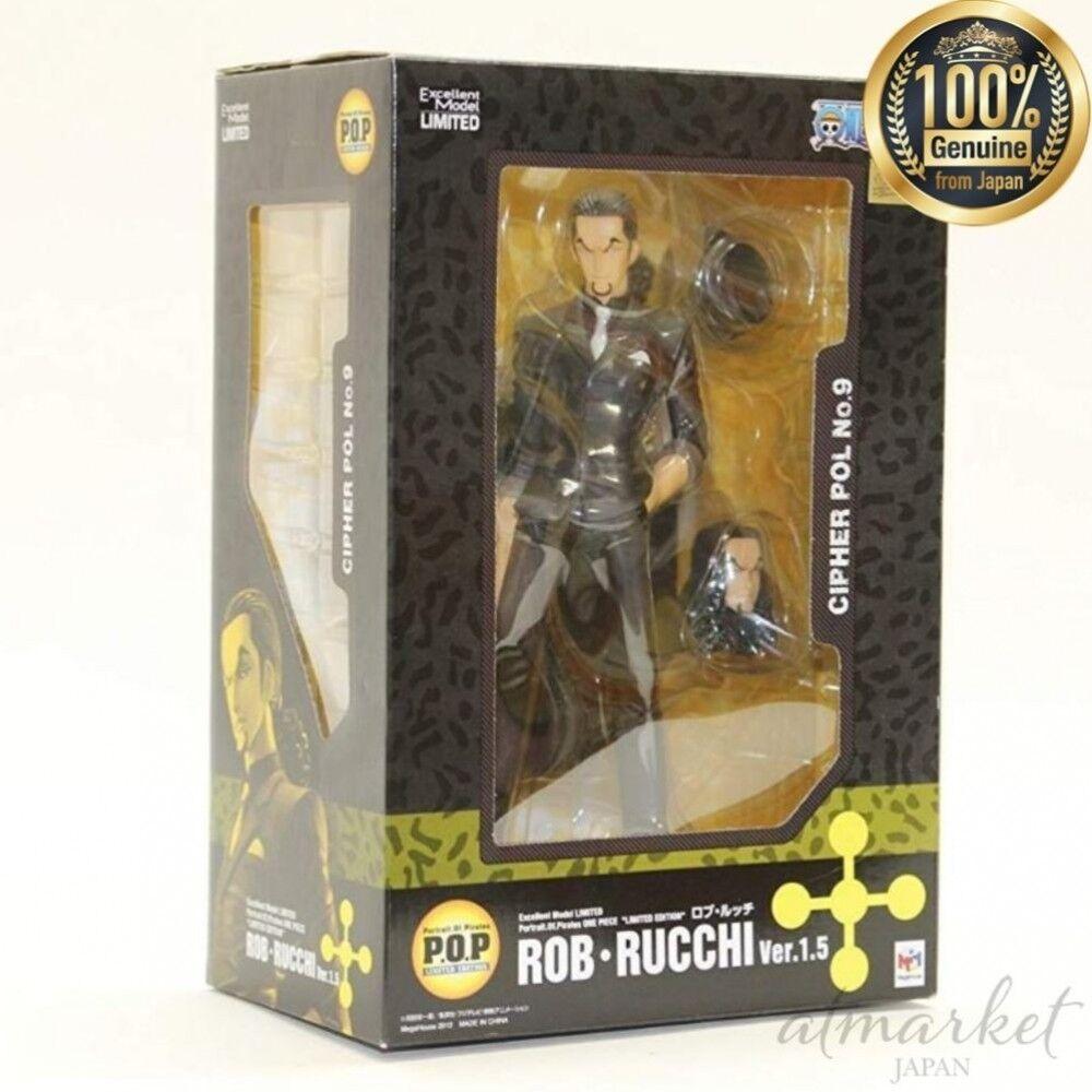 Une Pièce Figurine Portrait.of.pirates Rob Lucci  Ver1.5 Édition Limitée à Partir  articles de nouveauté