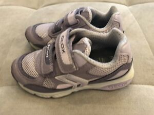 Girls-Geox-Sport-Athletic-Sneakers-Shoes-Size-10-Worn-Once