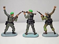 3 1978 Britains  Super Deetail Toy Soldiers 1 S.A.S. 2 British Commando