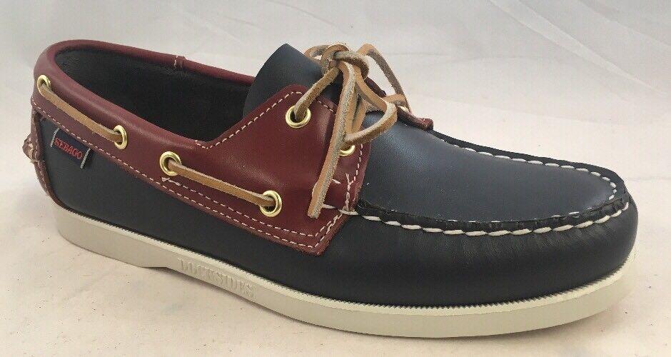 Sebago Spinnaker barco hombre de zapatos para hombre barco B72816 Ancho 58e28a