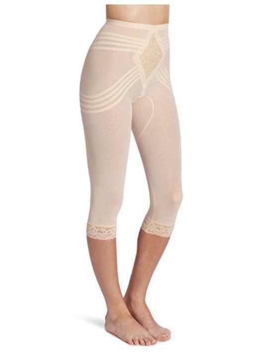 Rago Women's Capri Pant Liner - Shaper Style 6269