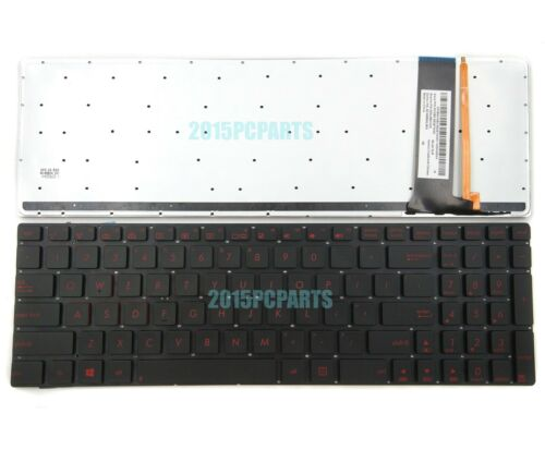 New Asus N56 N56DP N56J N56V N56X N56Z Keyboard US Backlit