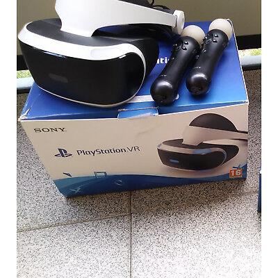 Sony PlayStation VR Headset Brille mit 2 kontrollern un kamera