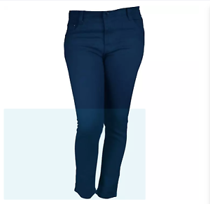 Vargaux-039-s-Must-Junior-Slim-Fit-Jeans-Dark-Blue-Size-24
