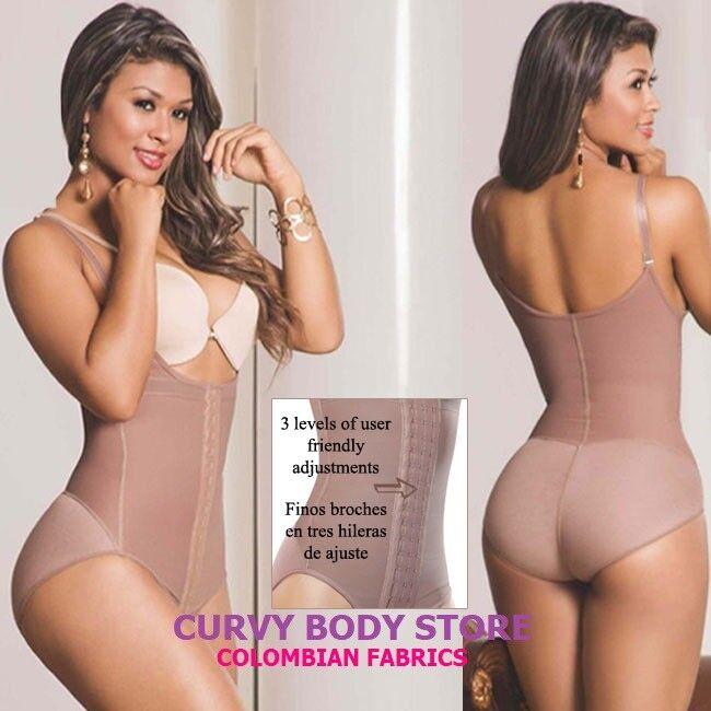FAJAS REDUCTORAS COLOMBIANAS DE women AS 2302 3 HOOKS LEVANTA COLA BODY SHAPER