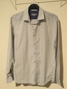 Ted-Baker-Long-Sleeved-Shirt-Size-4