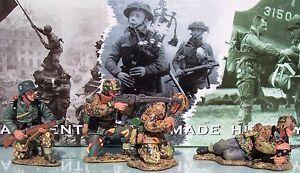KING & COUNTRY WW2 GERMAN ARMY WS051 MG42 GUN TEAM MIB
