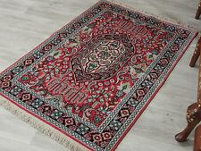 121x80 cm schöne handgeknüpften Kaschmir-seide Teppich kashmir-Silg rug No:76