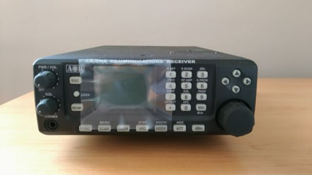 NEW MINT PERFECT UNBLOCKED (10 KHz - 3 3 GHz) AOR AR-ONE RECEIVER/SCANNER