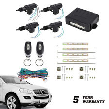 Universal 4 Door Central Lock Locking System Car Keyless Entry Kit With Actuator