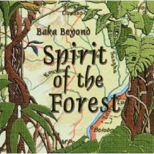 BAKA BEYOND - SPIRIT OF THE FOREST CD WELTMUSIK NEU