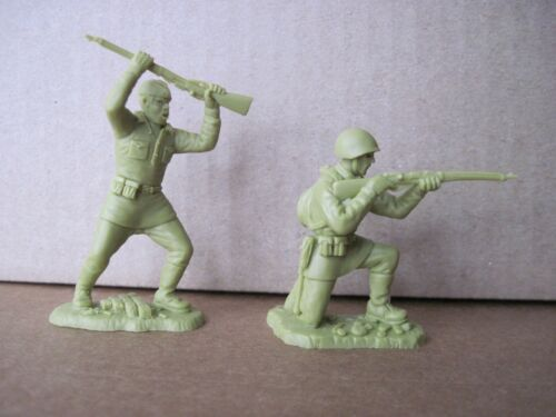 Soviet Russian Army WW II Warhansa ~ 60 mm Set 2 Without names  ~ Khaki olive