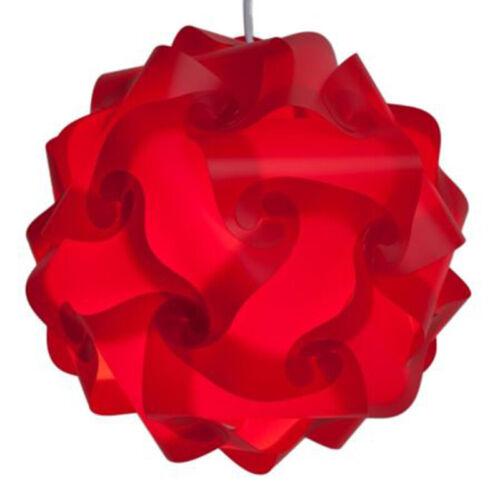 30pcs Iq Lampe Schirm Modern Dekoration Heim Jigsaw Puzzle Lampenschirm Innen
