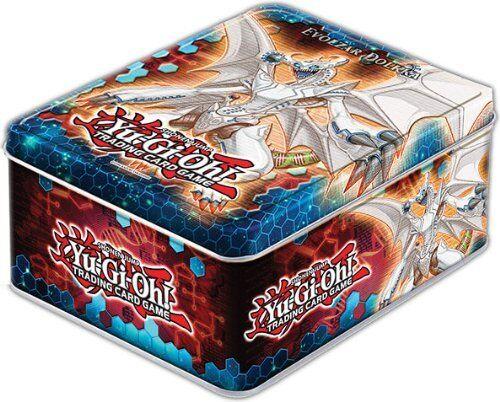 Factory Sealed YuGiOh 2012 Wave 1 Evolzar Dolkka Collector Tin
