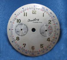 Breitling Cadette cal 188 Chronograph tri colours Dial