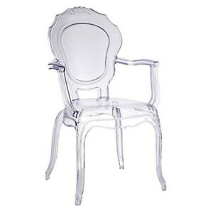 Clear-Transparent-Ghost-Vanity-Dining-Arm-Chair-French-Baroque-Polycarbonate