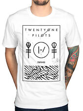 Official Twenty One Pilots Incognito Unisex T-Shirt Blurryface Vessel Double Sid