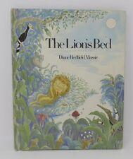 Vintage Kids Book Xerox THE LION'S BED Dianne Redfield Massie
