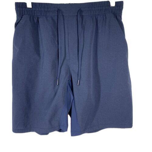 "Lululemon Mens Shorts 9"" Linerless  blue shorts Si"