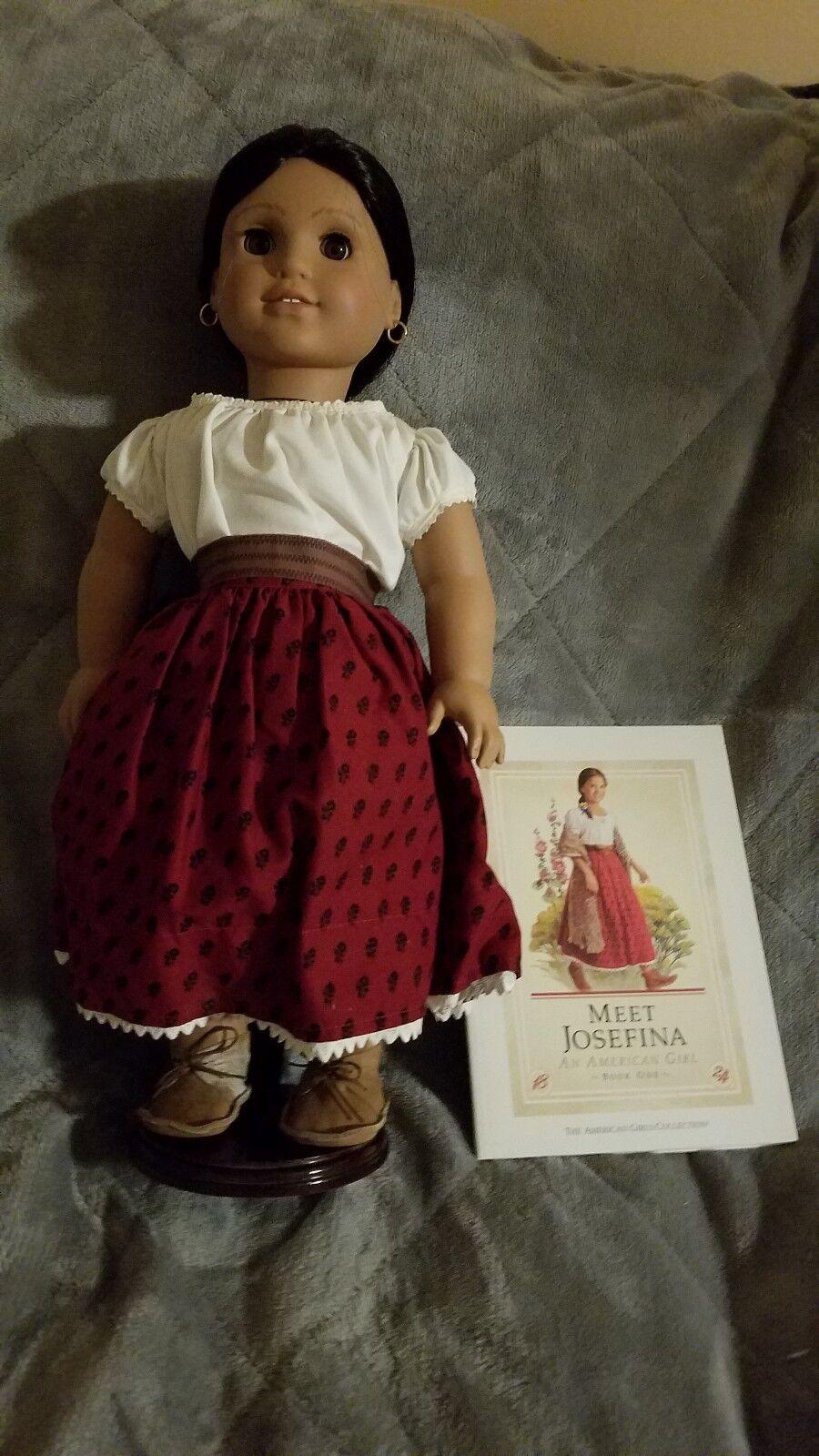 American Girl agradable compañía Muñeca American Girl Josefina 18