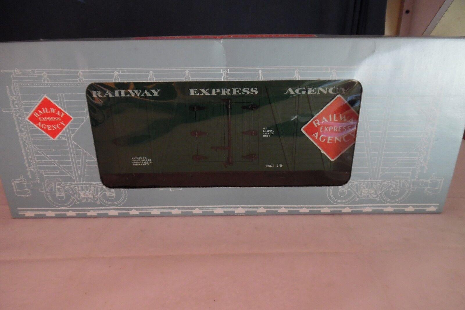 Aristo-Craft REA 46601, RAILWAY EXPRESS AGENCY TRUSS REEFER CAR, G Scale