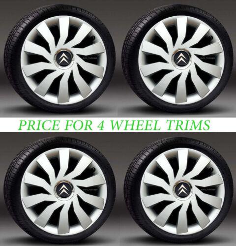 "4x14/"" wheel trims Hub Caps Covers to fit Citroen C2,Berlingo"