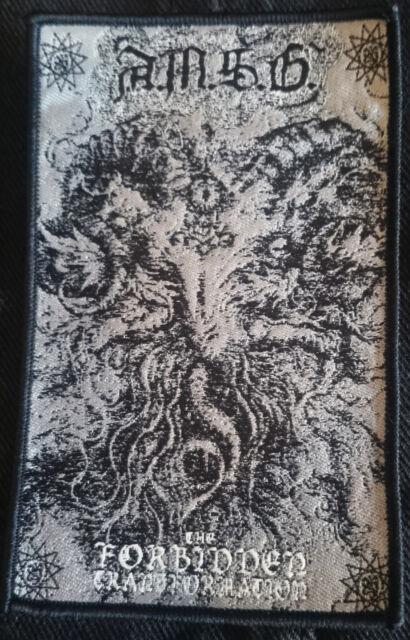A.M.S.G Ad Majorem Satanae Gloriam Forbidden patch Black Metal Bathory Blasphemy