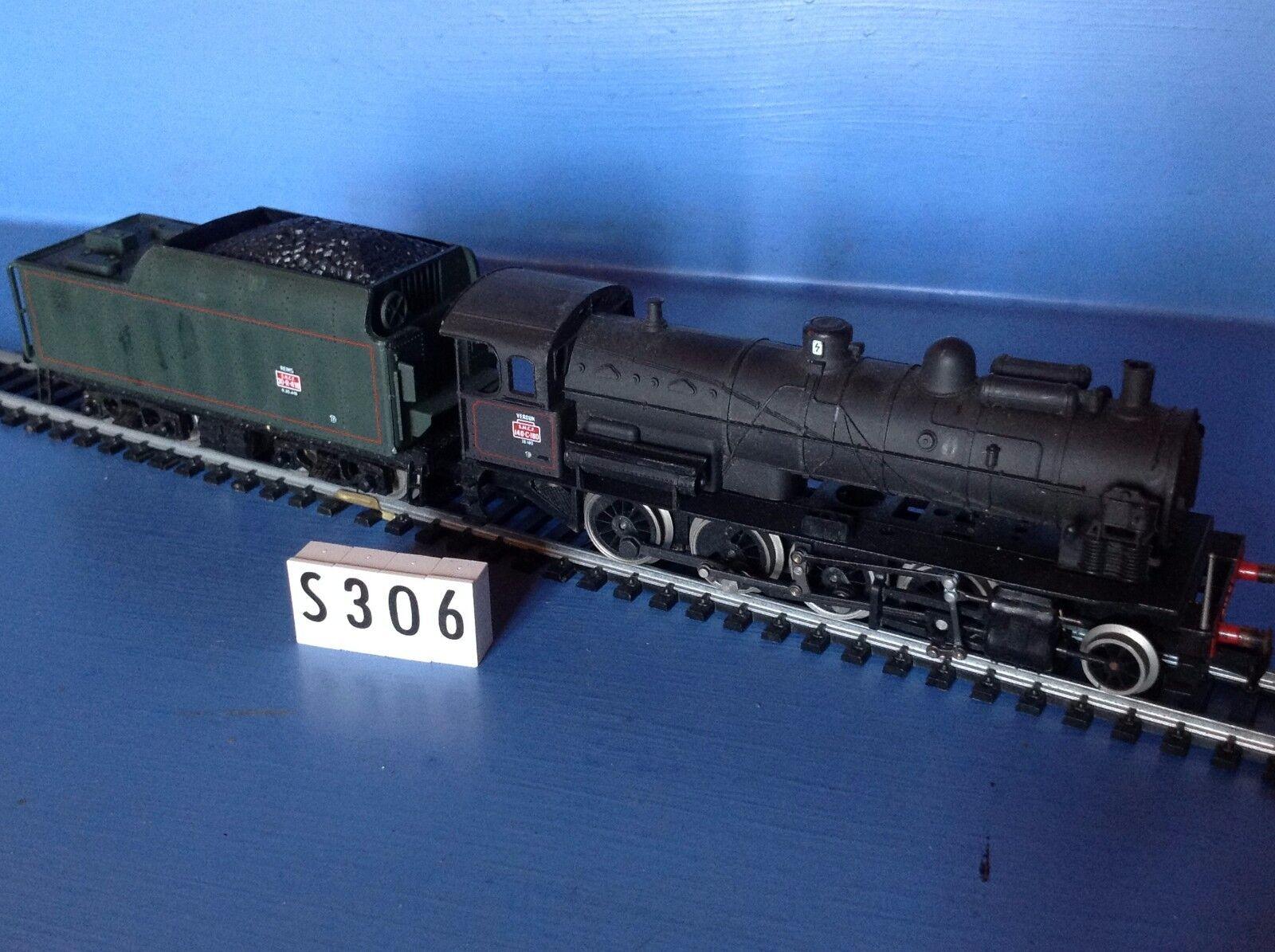 (S306) Locomotive 140-C avec tender 30R-416 Jouef, ech   Ho
