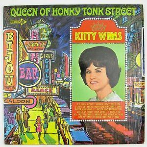 KITTY-WELLS-Queen-Of-Honky-Tonk-Street-LP-NM-NM