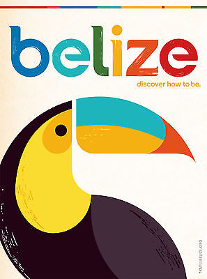 45 Vintage Travel Poster Art Belize *FREE POSTERS