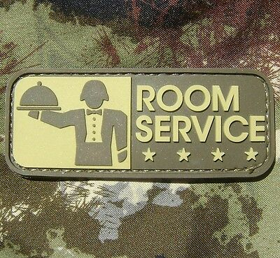 ROOM SERVICE! PVC ARMY MILSPEC ARID MULTICAM VELCRO® BRAND FASTENER PATCH