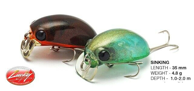fishing lures Lucky Craft Gengoal 35F