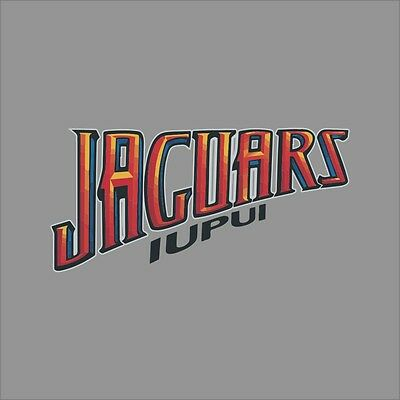 IUPUI Jaguars #4 NCAA College Vinyl Sticker Decal Car Window Wall